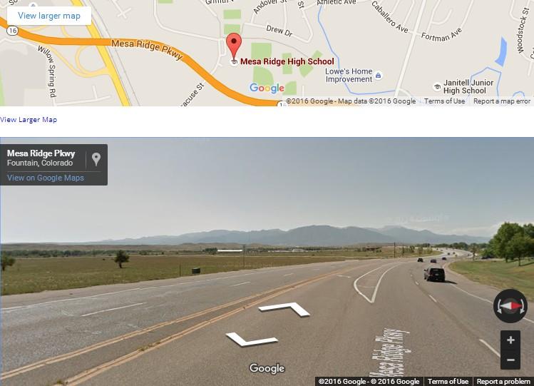 mesa ridge maps